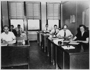 1950s office