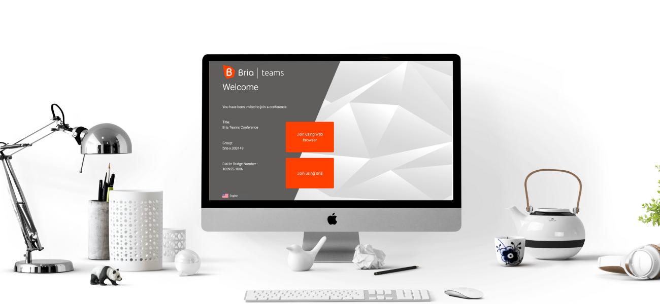 Bria Teams Web Client on Mac