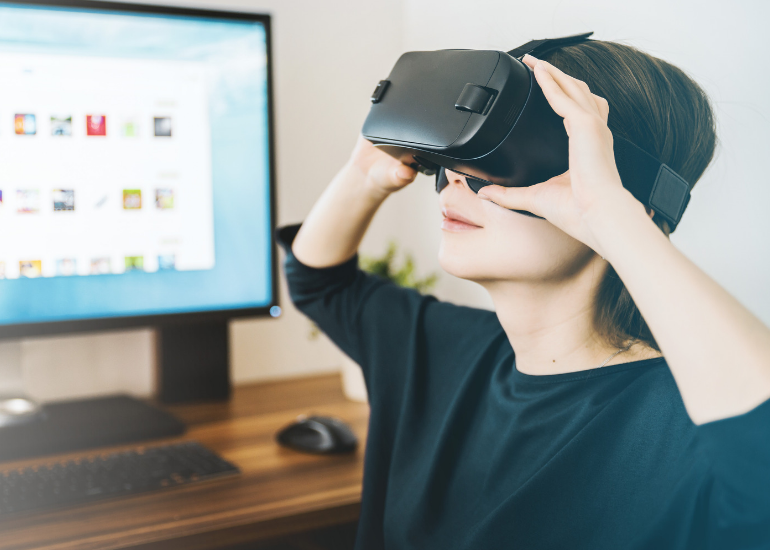 Virtual reality as growing trends