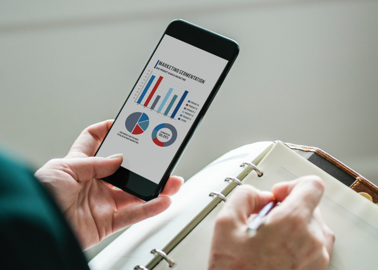 There's an increase in use of mobile apps to boost productivity for smbs
