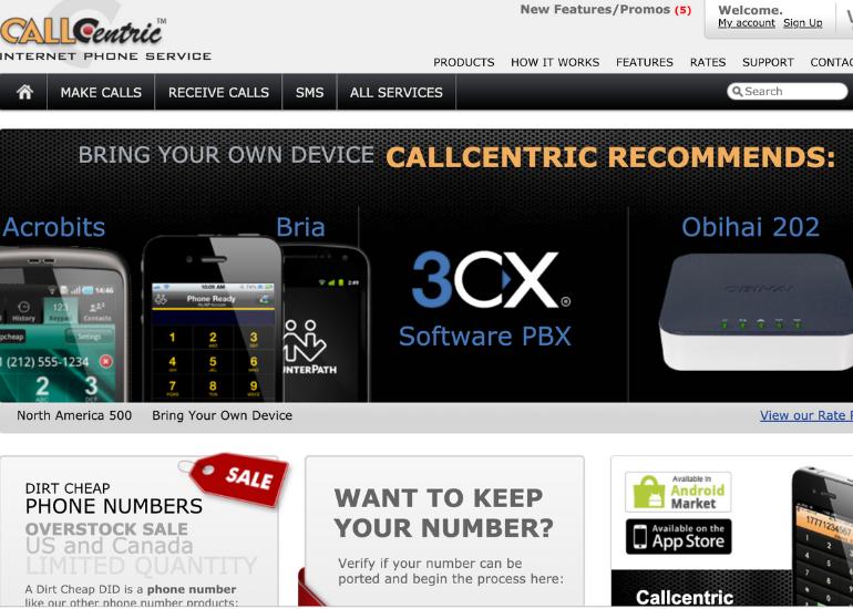 callcentric