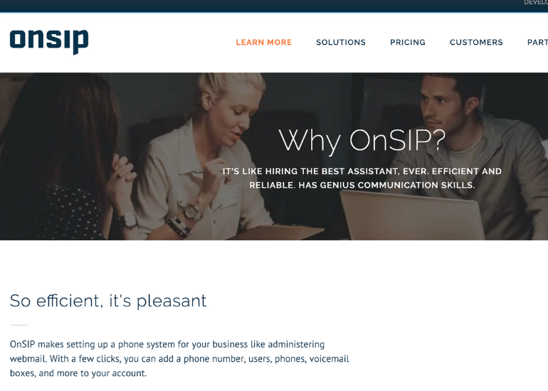 OnSIP- easy setup and configuration