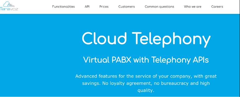 Teravoz- Cloud Telephony