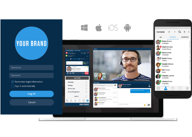 Bria customized solutions provide an unbeatable user experience